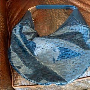 Gucci sea blue handbag